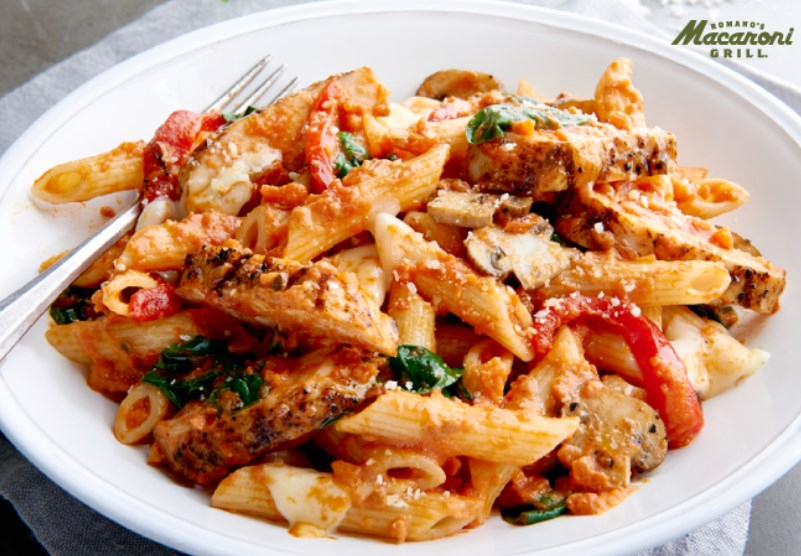 Macaroni Grill: Enjoy buy one, get one free lunch today!