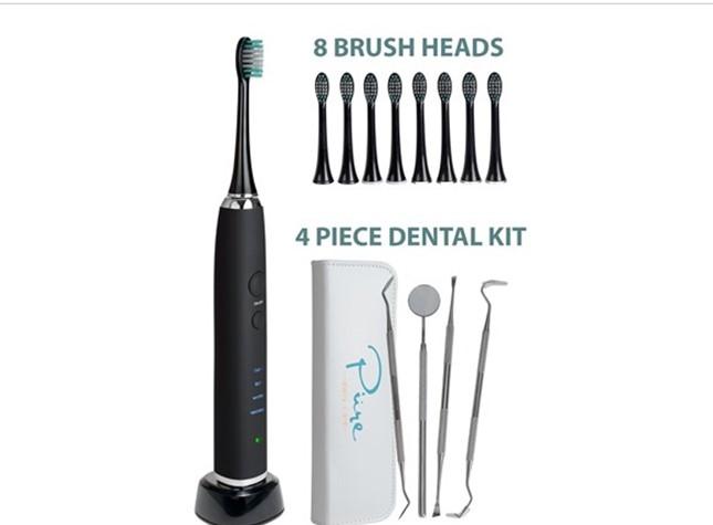 Today only: AquaSonic Black Series Ultrasonic whitening toothbrush for $30