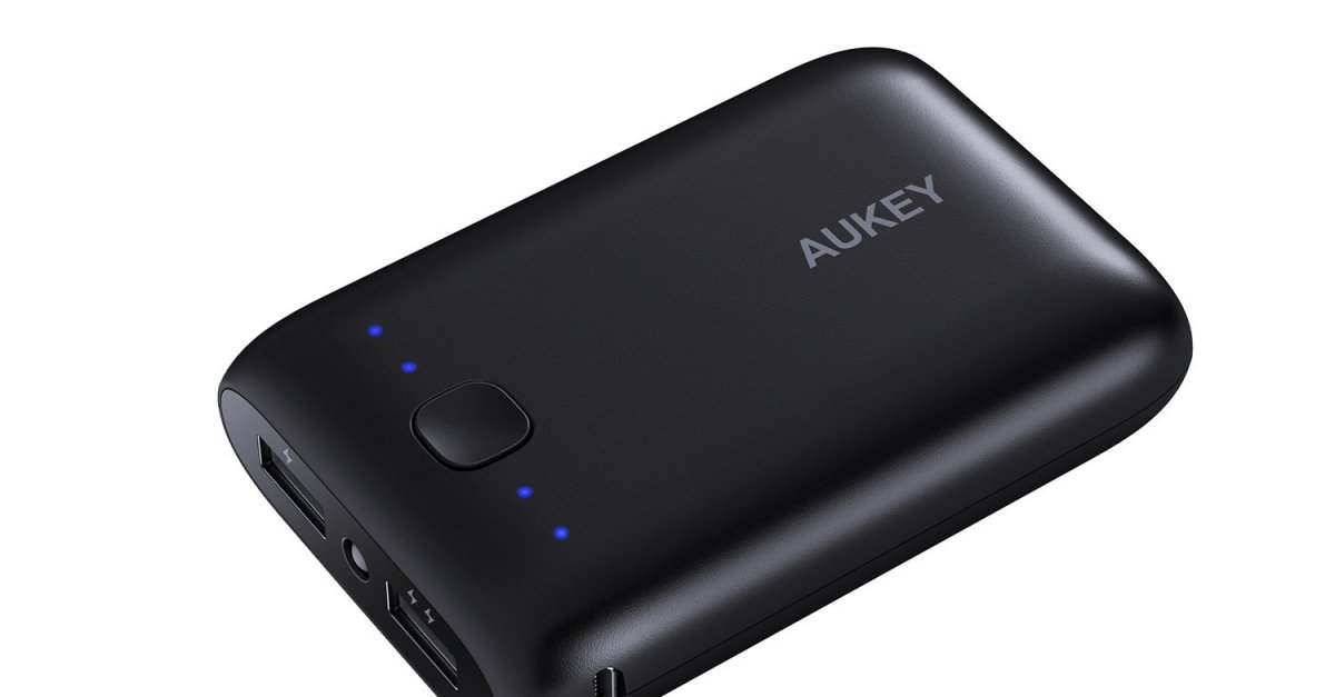 Aukey 10050mAh portable charger for $11