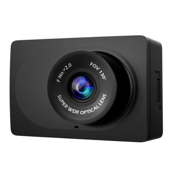 Yi 1080p car dash cam with 2.7″ display & night vision for $25