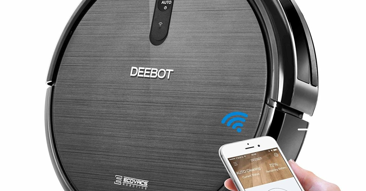Ecovacs Deebot N79 refurbished Wi-Fi robotic vacuum cleaner for $90
