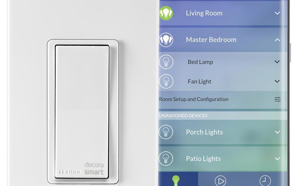 Leviton Decora smart Wi-Fi 15-amp universal LED/incandescent switch for $30