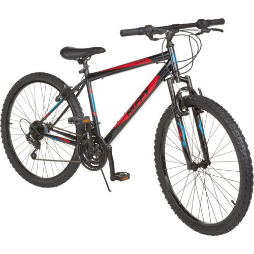Huffy men's Alpine 26″ 18-speed mountain bike for $68