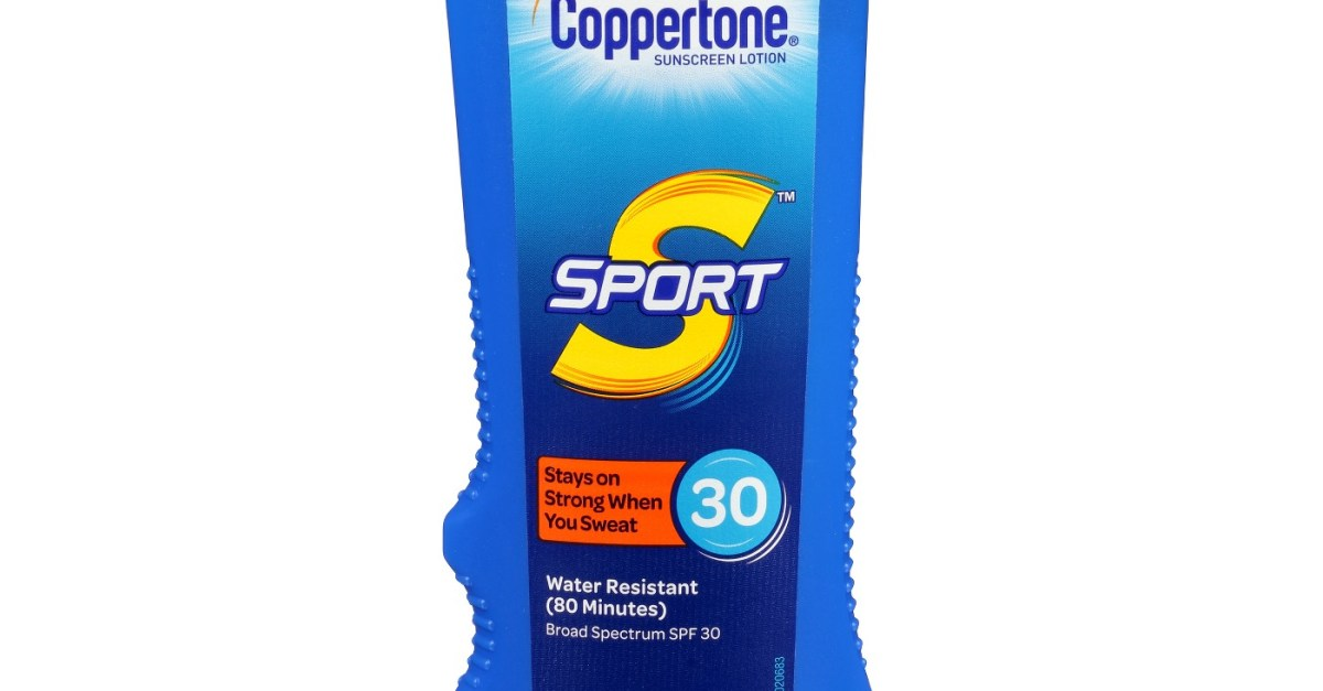 Save $4 on any 2 Coppertone sunscreen products with coupon plus $5 GC