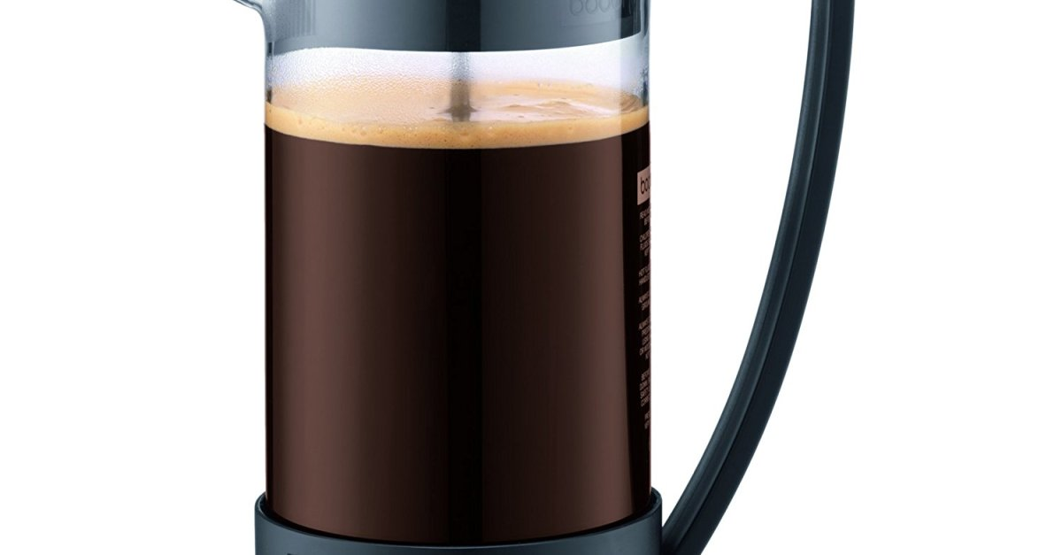 Bodum French Press coffee maker for $14