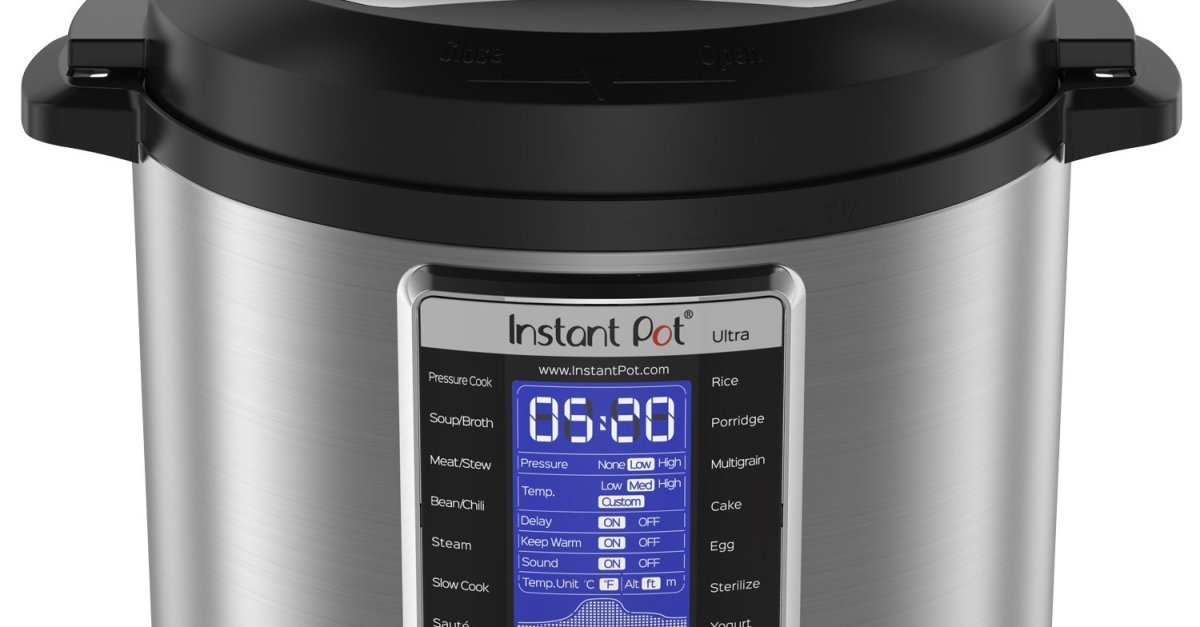 Instant Pot Ultra 6-qt 10-in-1 programmable pressure cooker for $100