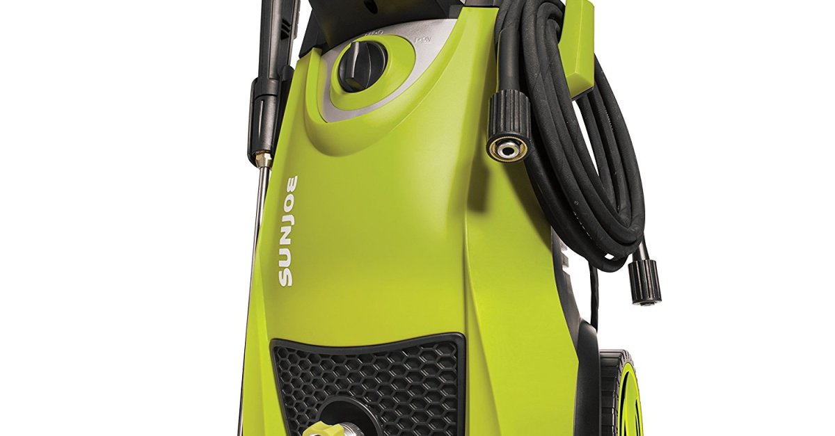 Prime members: Sun Joe 2000 PSI pressure washer for $92