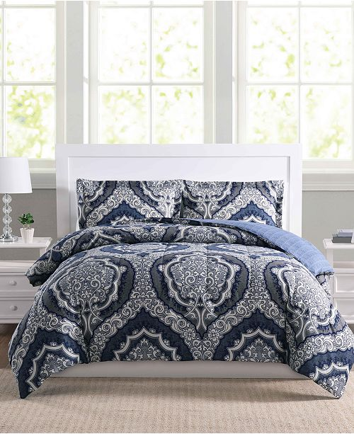 Sale extended! 3-piece reversible comforter sets for $18 at Macy's