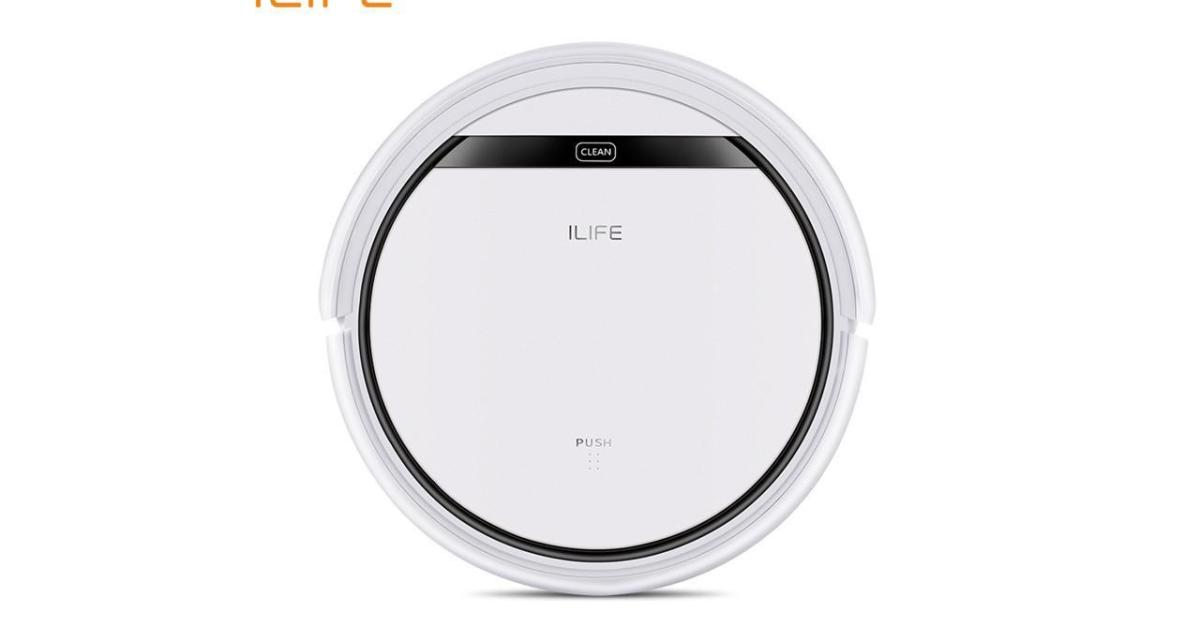 Today only: ILIFE V4 Pro robotic vacuum with remote for $125