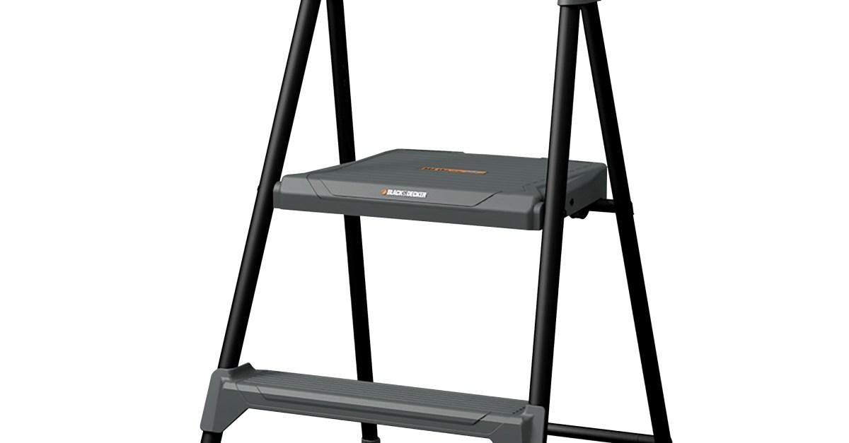 Louisville 2′ steel step stool for $22