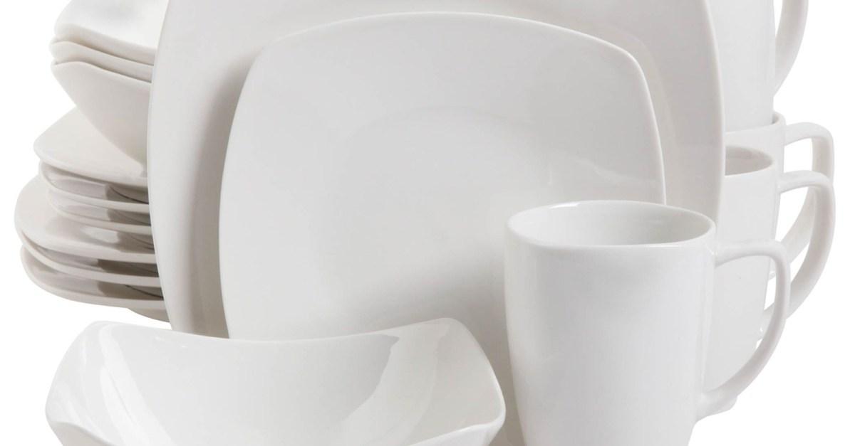 16-Piece Zen Buffetware dinnerware set