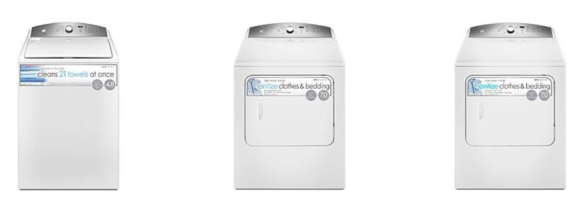 Kenmore washer or dryer for $700 with $700 back in points