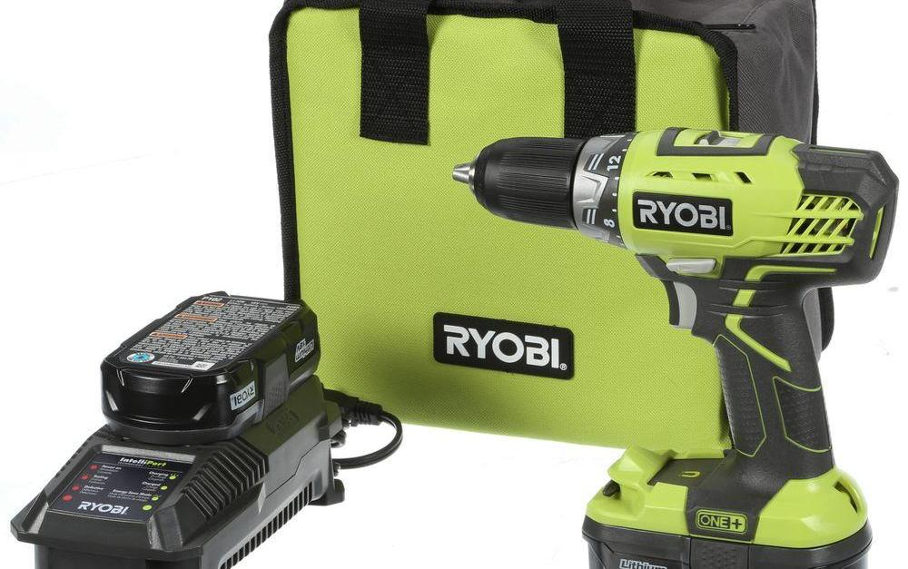 Ends soon! Buy a Ryobi 18-volt ONE+ lithium-ion drill driver kit and get a free tool