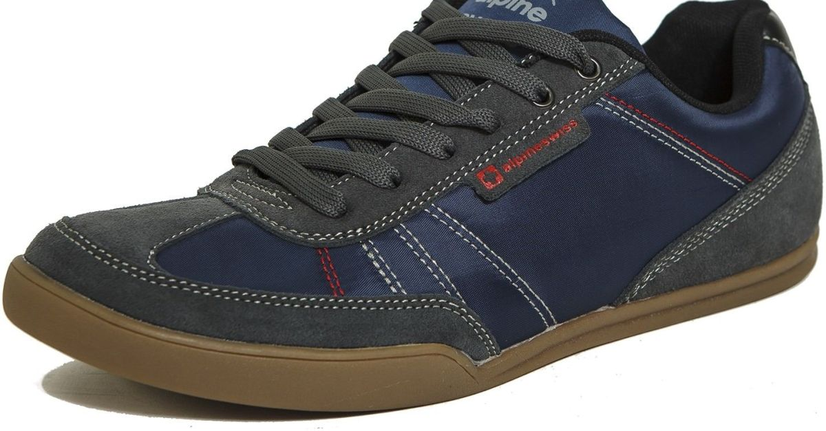 Alpine Swiss casual men's shoes for $28, free shipping