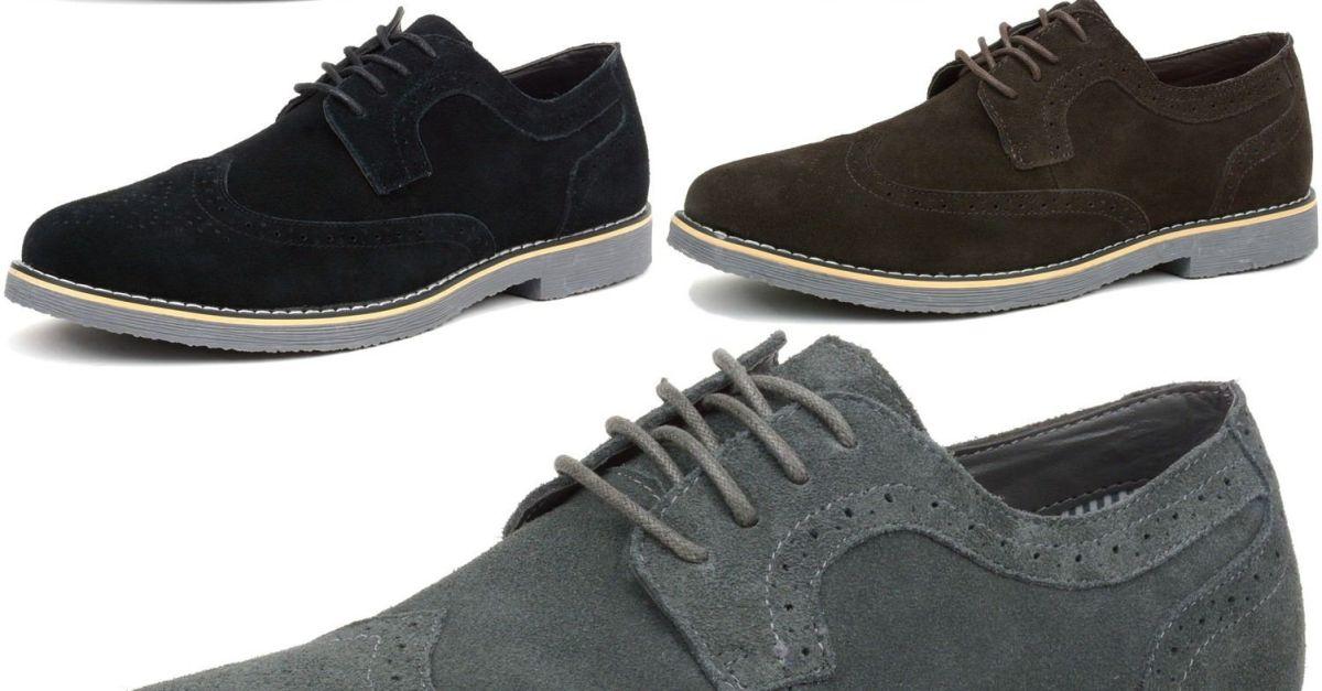 Alpine Swiss Beau men's dress shoes for $30, free shipping
