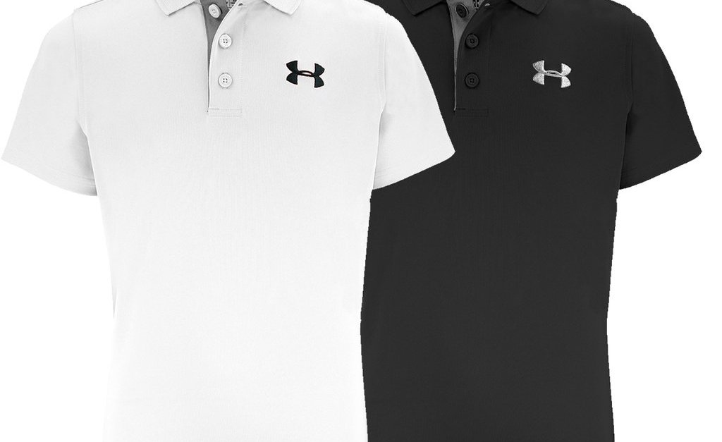 Under Armour boys Match Play polo 2-pack for $30