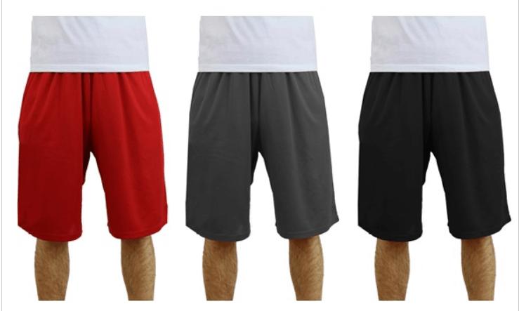 3-pack men's shorts for $20