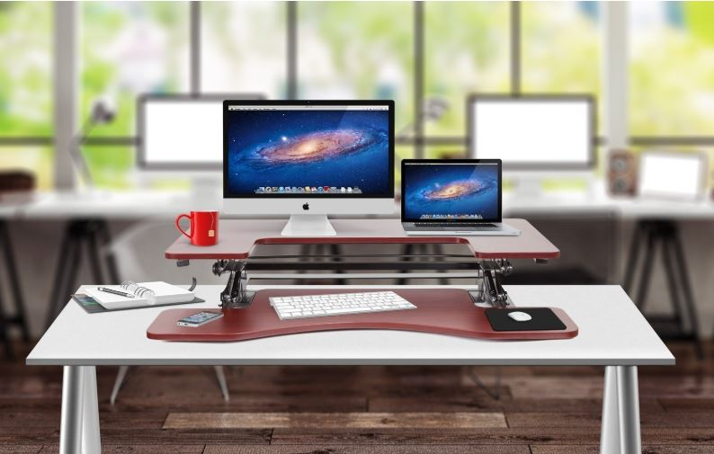 Today only: Halter standing desk riser for $160