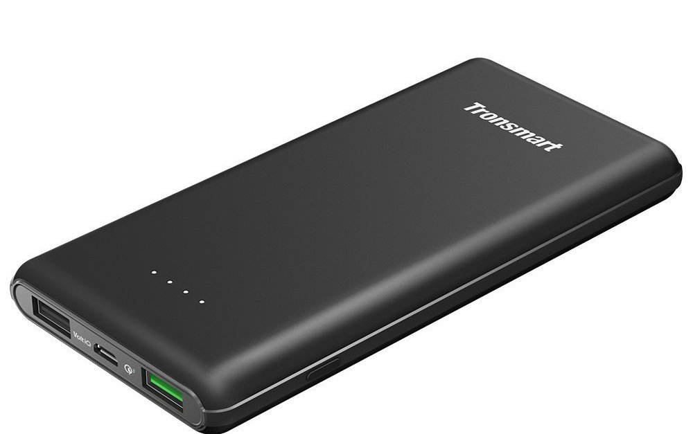 Tronsmart Presto 10,000mAh power bank with quick charge for $14