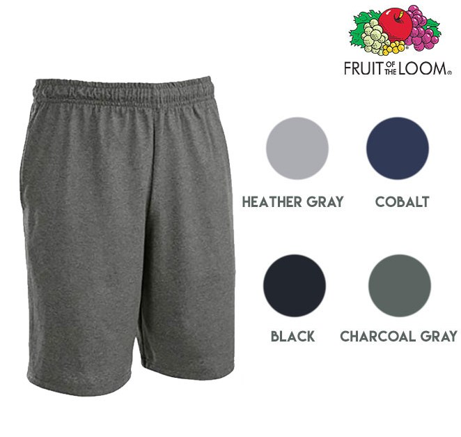 6 pairs of Fruit of the Loom men's shorts for $21