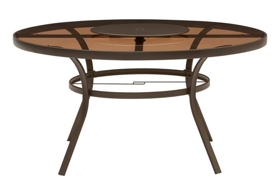 Garden Treasures Verdant Bay round steel dining table for $118