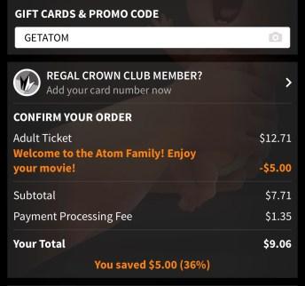 Atom Tickets
