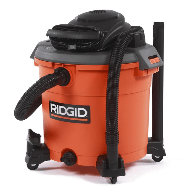 RIGID 16 gallon wet/dry vac only $50 at The Home Depot