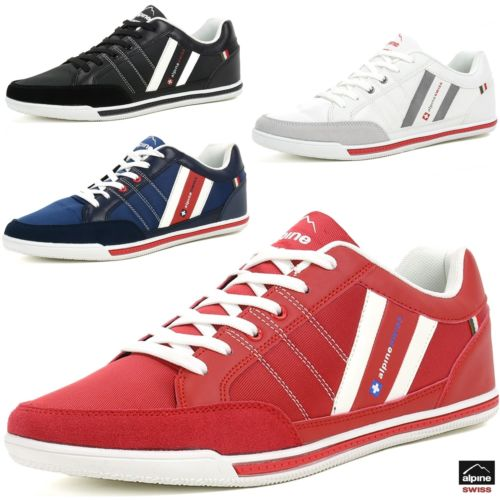 Alpine Swiss Stefan men's retro fashion sneakers for $23, free shipping