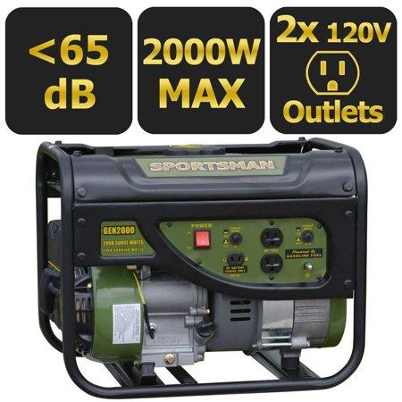 Sportsman gasoline 2000W portable generator for $179