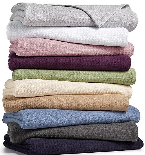 Any-size Lauren Ralph Lauren classic 100% cotton blankets for $24