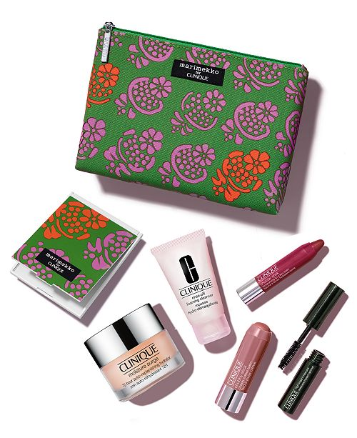 Clinique 7-piece discovery set for $15 plus $10 future credit, free shipping