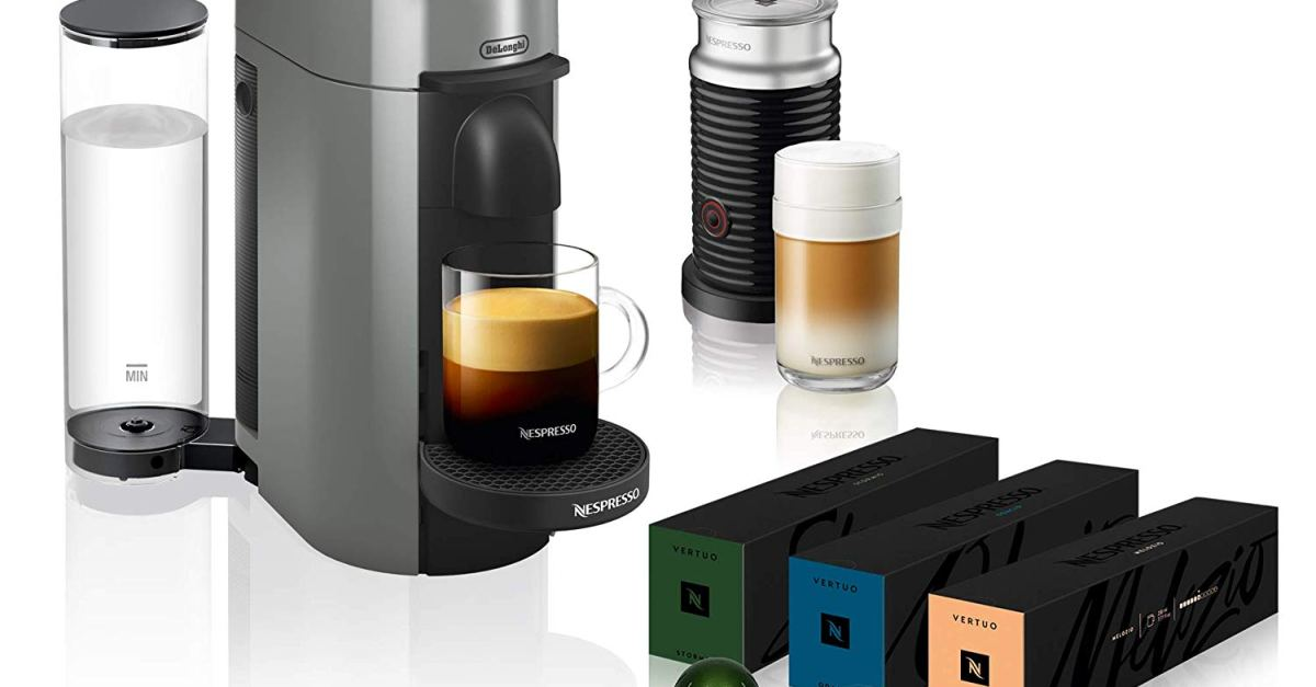 Today only: Nespresso Vertuo Plus coffee & espresso makers from $130