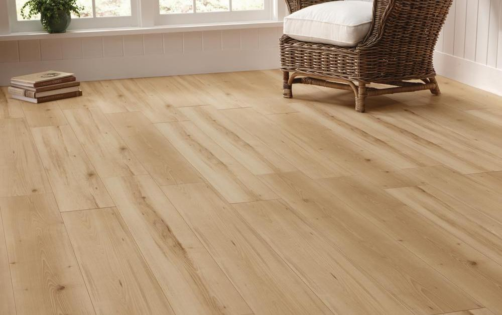 Today only: Laminate flooring from $.77 per square foot