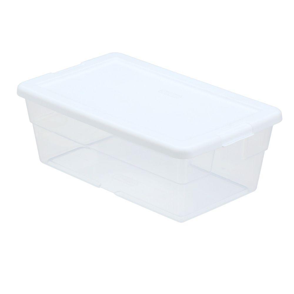 Sterilite 6 Quart Storage Box For $0.98