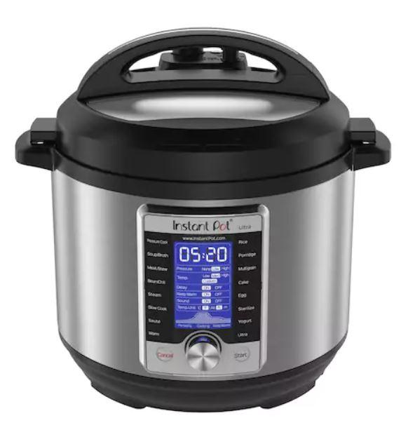 6-quart Instant Pot Ultra 10-in-1 pressure cooker for $94 + $10 Kohl's Cash
