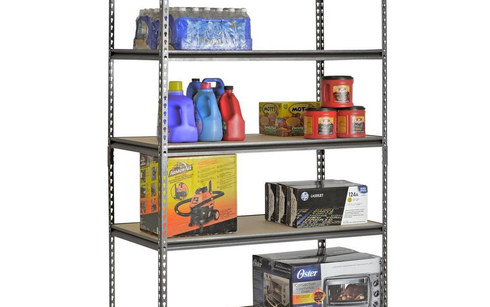Today only: Garage shelving from $31 at The Home Depot