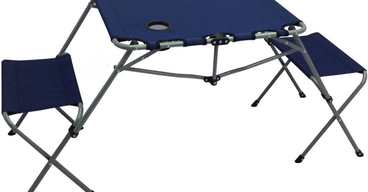Ozark Trail 2-In-1 table set for $16