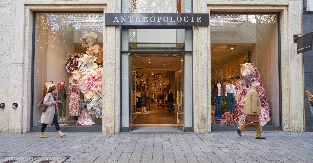 Take an extra 30% off sale items and free shipping at Anthropologie