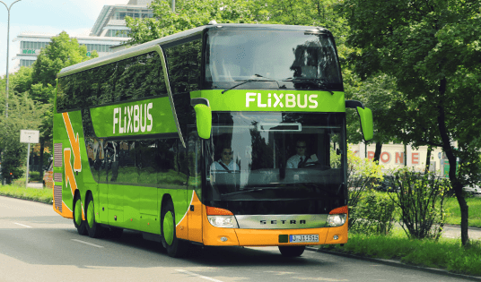 FlixBus: Travel from 99 cents one-way by bus!