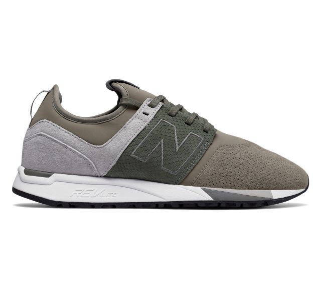 Today only: Men's 247 Luxe New Balance athletic shoes for $32 shipped