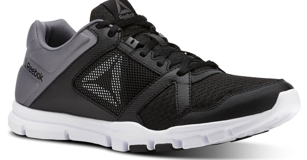 Reebok men's Yourflex training shoes for $30, free shipping