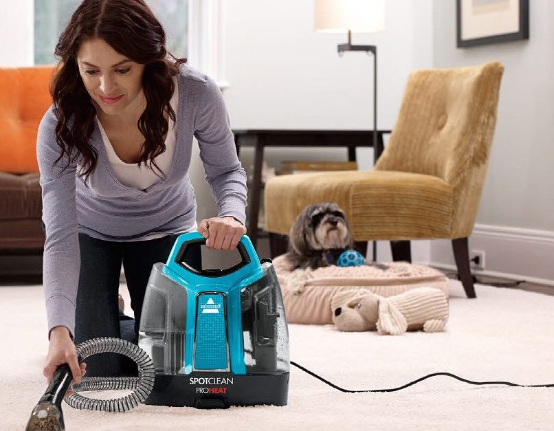 Price drop! Bissell SpotClean ProHeat portable spot carpet cleaner for $50