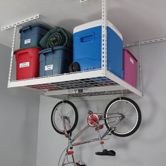Today only: SafeRacks 4′ x 4′ overhead storage rack for $73