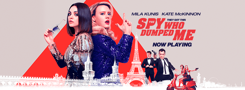Get a FREE movie ticket to see The Spy Who Dumped Me