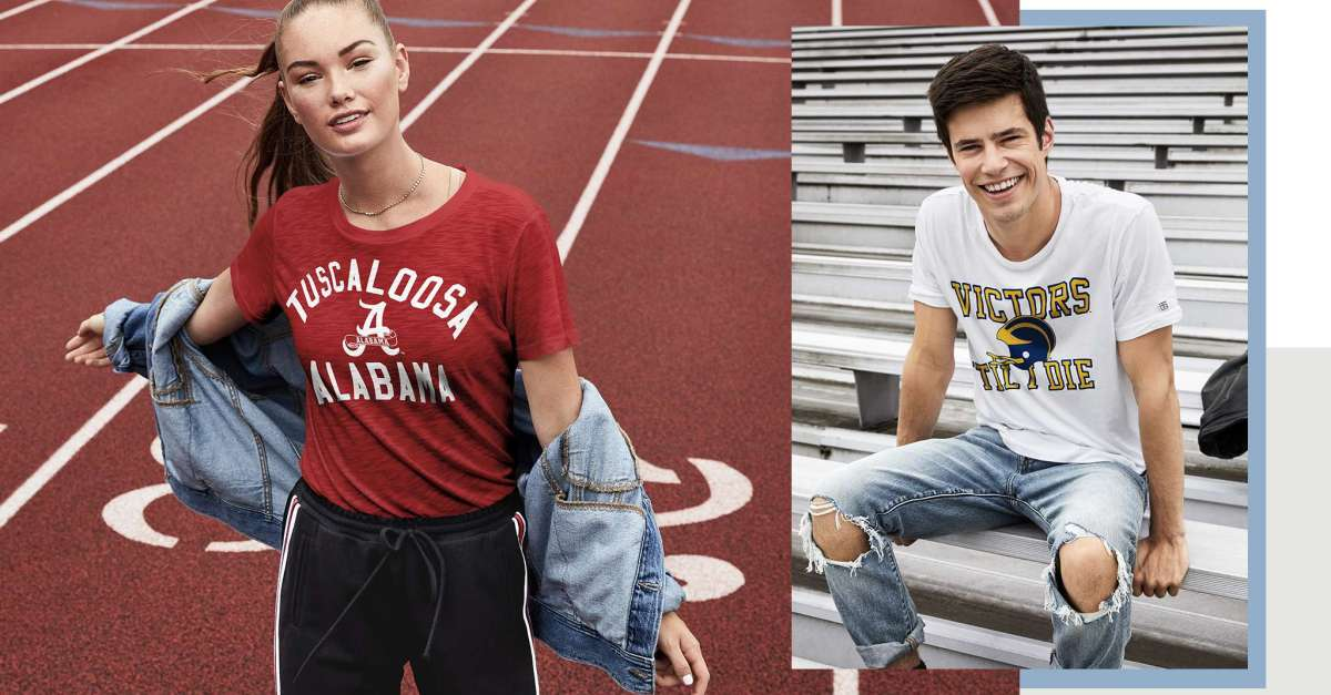 Buy two, get one free tops at American Eagle
