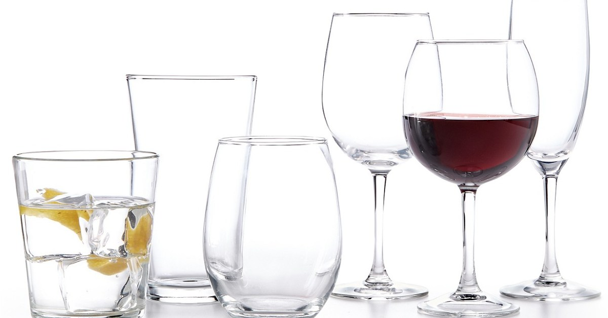 Today only: 12-piece Martha Stewart glassware sets for $10