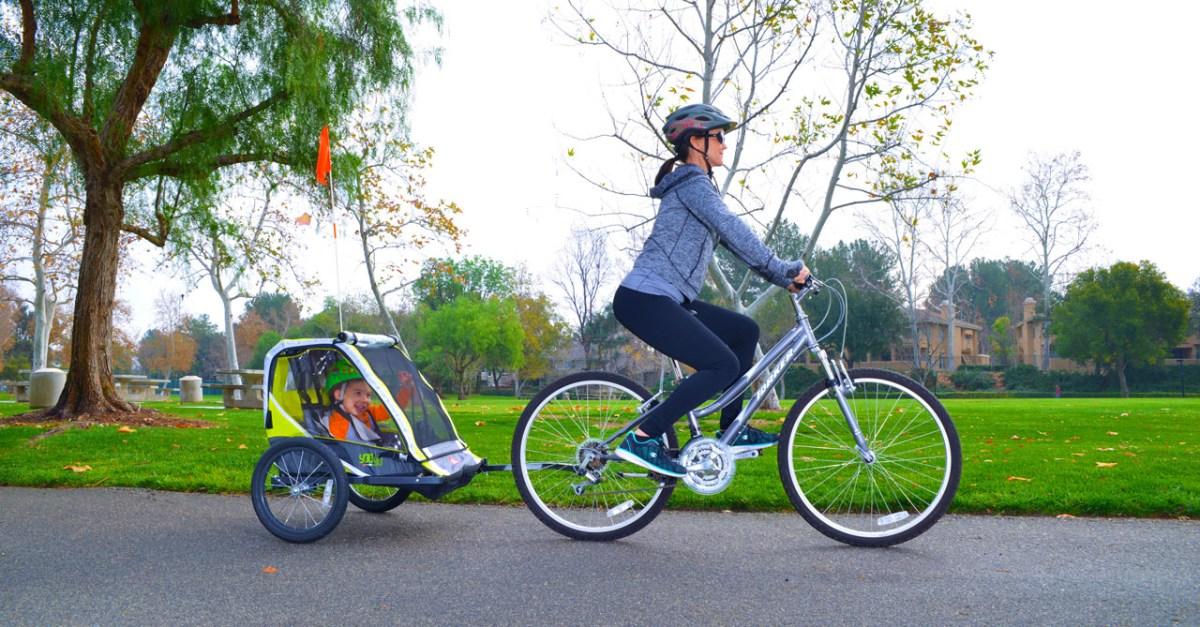 Allen Sports Deluxe 2-child bike trailer for $67
