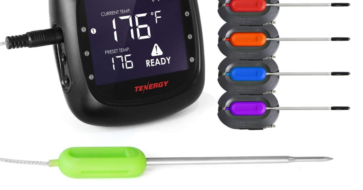 Today only: Tenergy Solis digital meat thermometer for $40