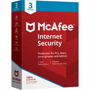 Today only: McAfee Internet Security software FREE with promo code and rebate