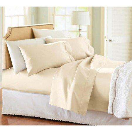 Better Homes & Gardens 100% cotton full sheet set for $7